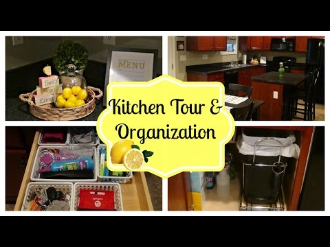 Organized Kitchen Tour | How to Organize Your Kitchen on a Budget!