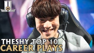TheShy Top 10 Career Plays | Lol esports