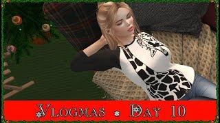 Vlogmas Day 10! Casual Chat Sunday  (Second Life)