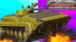 Мульт танки ARMADA MODERN TANKS #15 Онлайн игра Боевые машинки. Новая битва танков Видео для детей