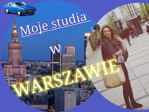 Studia W WARSZAWIE - PLUSY I MINUSY | VLOG Warszawa