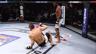 Khabib vs. Tyron Woodley (EA Sports UFC 2) - CPU vs. CPU