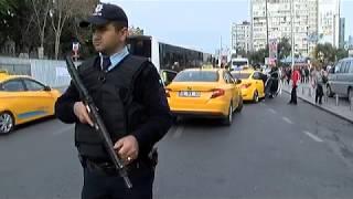 İstanbul Polisinden Ticari Taksilere Denetleme
