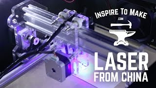 DIY CNC Laser Engraver from China