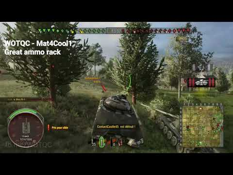 WOTQC - Mat4Cool1 - World of Tanks Xbox - Great ammo Rack