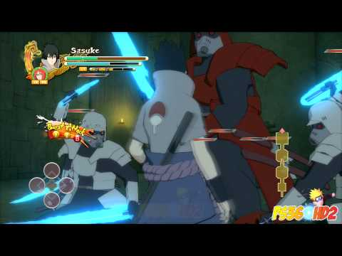Naruto Shippuden: Ultimate Ninja Storm 3: Hack N Slash Gameplay