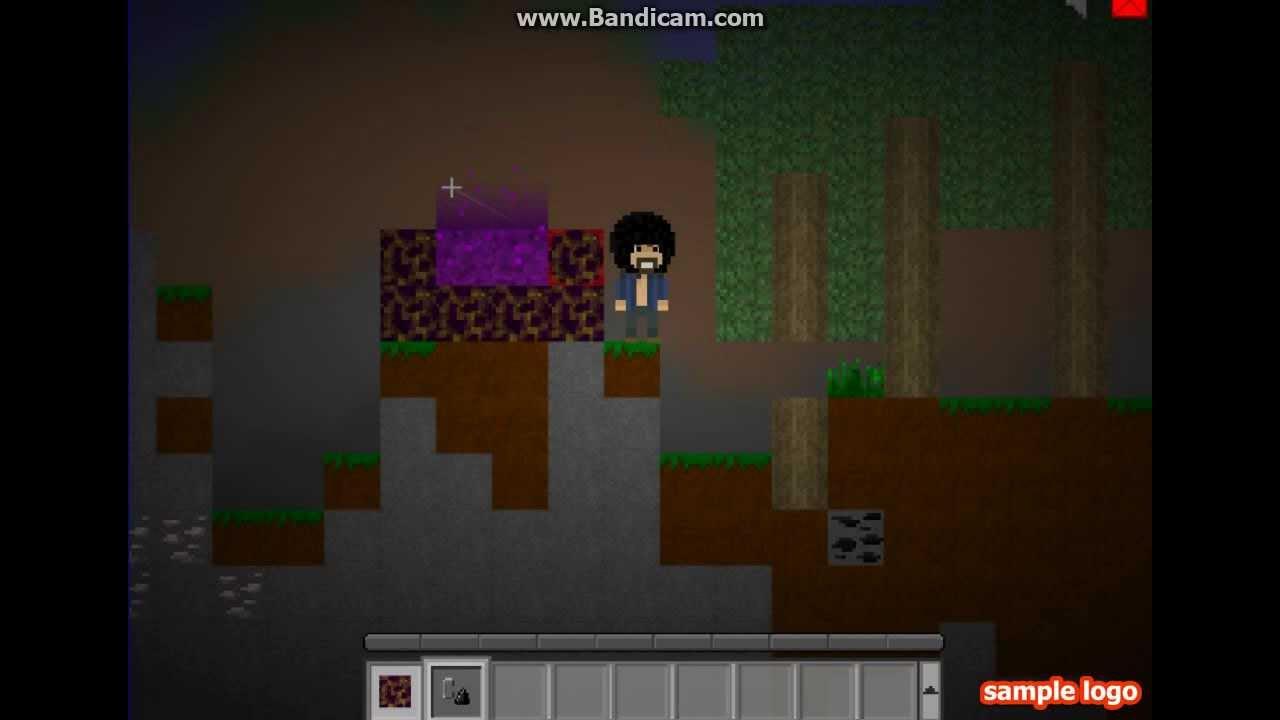 mine blocks how to make a portal