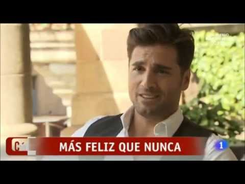 """David Bustamante. Entrevista.Grabación videoclip """"Feliz"""""""