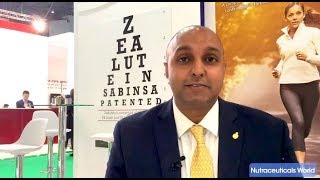 Sabinsa Highlights Eye Health Category Trends. Featured by Nutraceuticals World