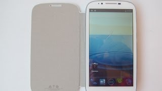 "Qumo Quest 530 - смартфон с 5,3"" IPS экраном - видео обзор"