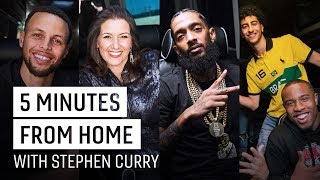 Overtime: Stephen Curry Talks Family with Nipsey Hussle, Mayor Schaaf & More | 5 Minutes from Home