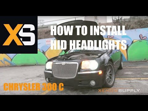 Chrysler 300 C - How to Install HID Xenon (/w wiring h