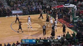 1st Quarter, One Box Video: Milwaukee Bucks vs. Golden State Warriors