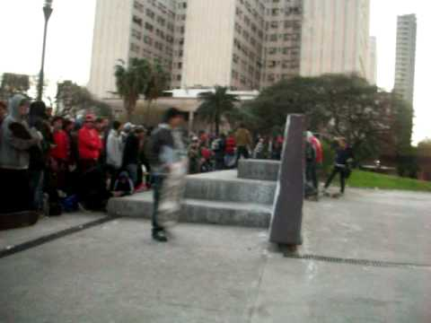 Torneito de Skate en la plaza Houssay (Part. 1)