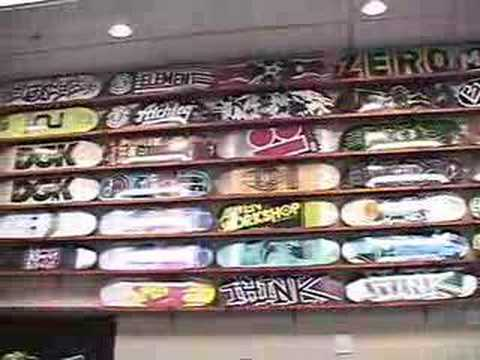Street Science Skate Shop Webisode 1