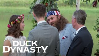 "Duck Dynasty: John Luke and Mary Kate Say ""I Do"" 