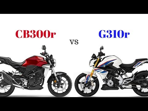 Honda CB300r vs BMW G310r