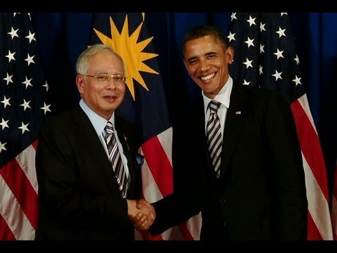 President Obama and Prime Minister Najib Speak before Bilateral Meeting