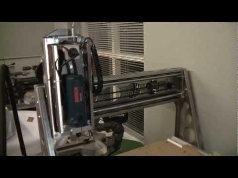 Cnc Router Belt Drive Youtube