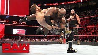 download musica Braun Strowman & Bobby Lashley vs Sami Zayn & Kevin Owens: Raw April 23 2018