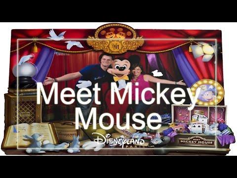 Meet Mickey Mouse | DISNEYLAND PARIS