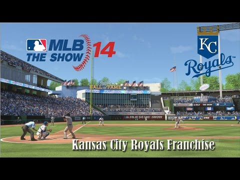 MLB 14 The Show PS4 Kansas City Royals Franchise (Y3,G4): Royals vs Diamondbacks