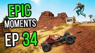 PUBG: Epic & Lucky Moments Ep. 34