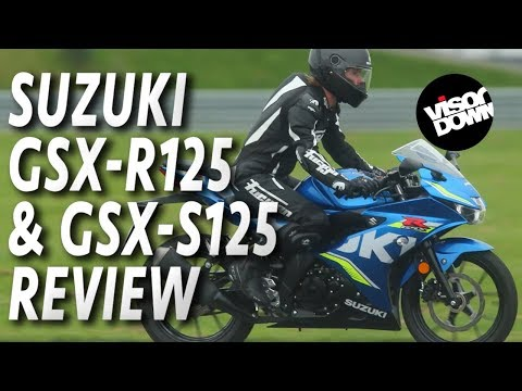 Suzuki GSX-R125 & GSX-S125 Review First Ride | Visordown.com