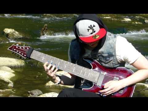 Schecter Hellraiser C-9 Andy Billy Goat - The 9th Sense (official Music Video) video
