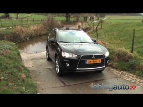 Essai Mitsubishi Outlander II - Test version 2010