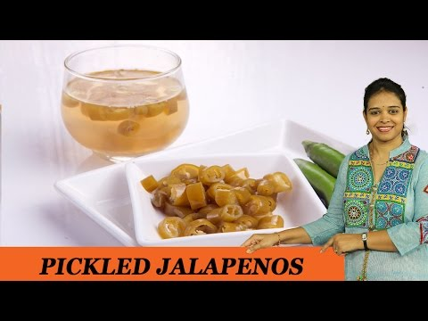 PICKLED JALAPENOS - Mrs Vahchef