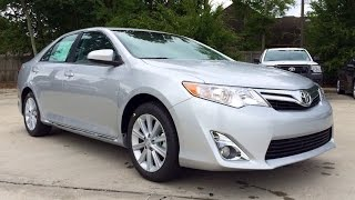 2014 Toyota Camry XLE V6  Full Review: Startup & Exhaust