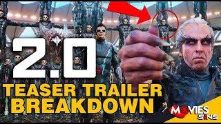 2.0 - Teaser Trailer Breakdown [Hindi] | Rajinikanth | Akshay Kumar |Thing You Missed