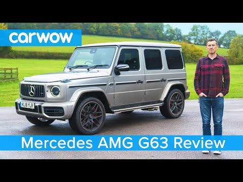 Mercedes-AMG G63 SUV 2019 in-depth review - see why it's worth £150.000!