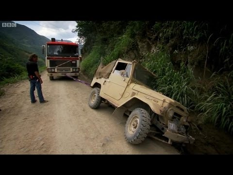 Bolivia's Death Road - Top Gear - BBC