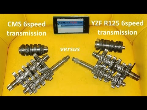 6 speed Racing Transmission CMS for YZF R125 R15 Vixion 135LC Jupiter MX Sniper LC135 Exciter FZ150i