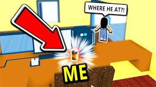 Hater Joins My Hide And Seek, But My Hiding Spot Was Too Good (Roblox)