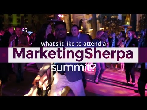What's it Like to Attend a MarketingSherpa Summit?