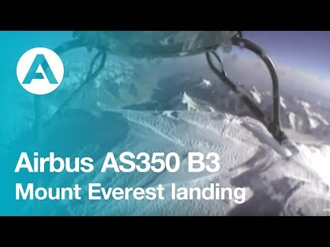 World Record - Mount Everest AS350 B3 landing