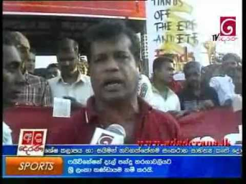 17/11/2011 - Trade Unionists demand govt. worker salary increase - Lalkantha