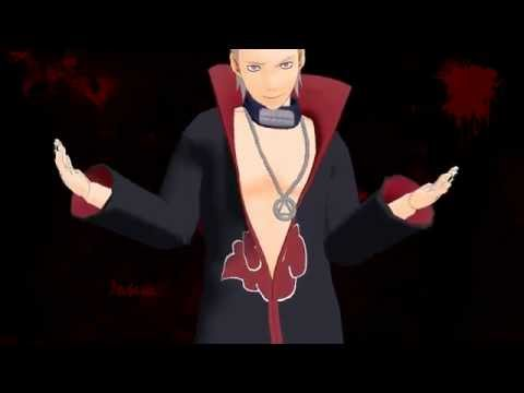 [MMD] Hidan dances to Circus #1