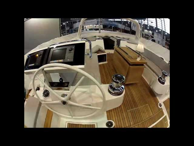 New Beneteau Oceanis 55 at the Paris Boat Show