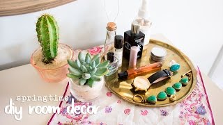 DIY Room Decor for Spring