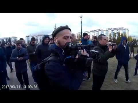 Съемка переодетых милиционеров, Пинск.