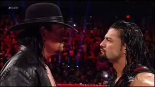 Undertaker vs Roman Reigns na Wrestlemania 33