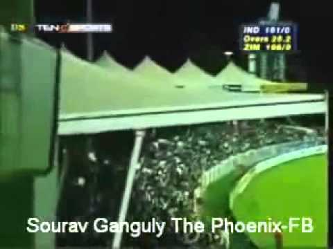 best sixes of sourav ganguly in sharja HD.MP4