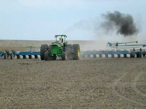 John Deere 6030 and 24 Row Kinze Planter