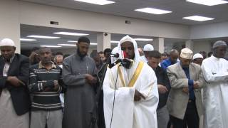 Very Sharp and smooth Recitation by Shiekh jamac Hareed taraweeh 2013