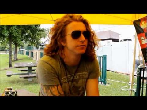 Travis Clark of We The Kings | Vans Warped Tour 2012 | Houston Texas