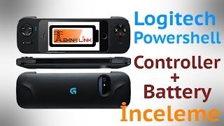 Logitech Powershell Controller + Battery İnceleme & Test videosu